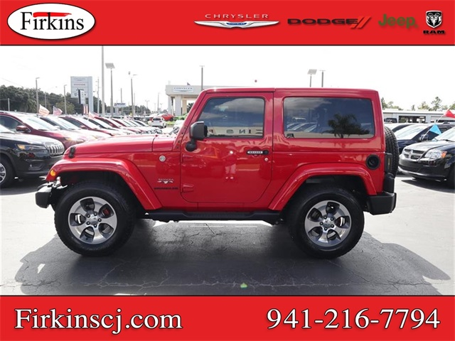 Certified Pre-Owned 2017 Jeep Wrangler Sahara