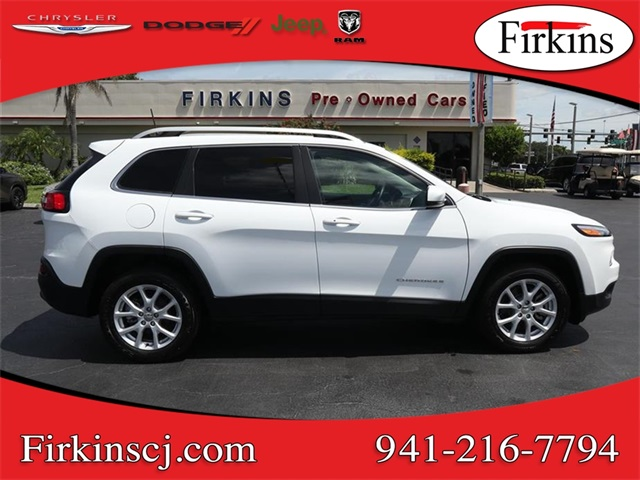 Certified Pre-Owned 2018 Jeep Cherokee Latitude Plus
