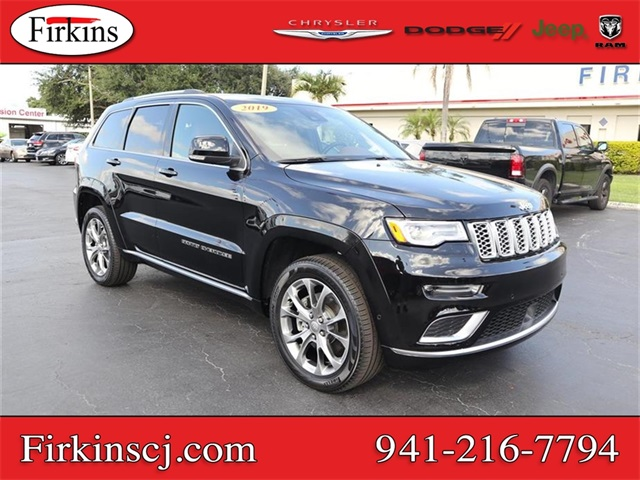 Certified Pre-Owned 2019 Jeep Grand Cherokee Summit