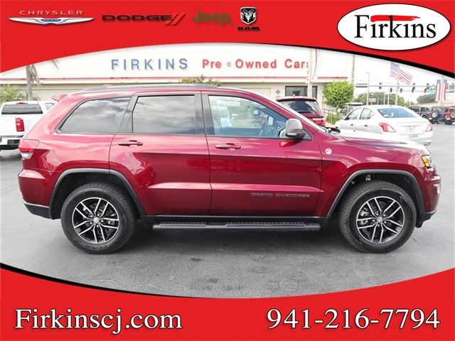 Certified Pre-Owned 2018 Jeep Grand Cherokee Trailhawk